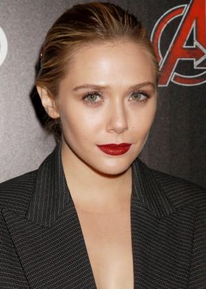 Elizabeth Olsen - 'Avengers: Age of Ultron' Screening in NYC
