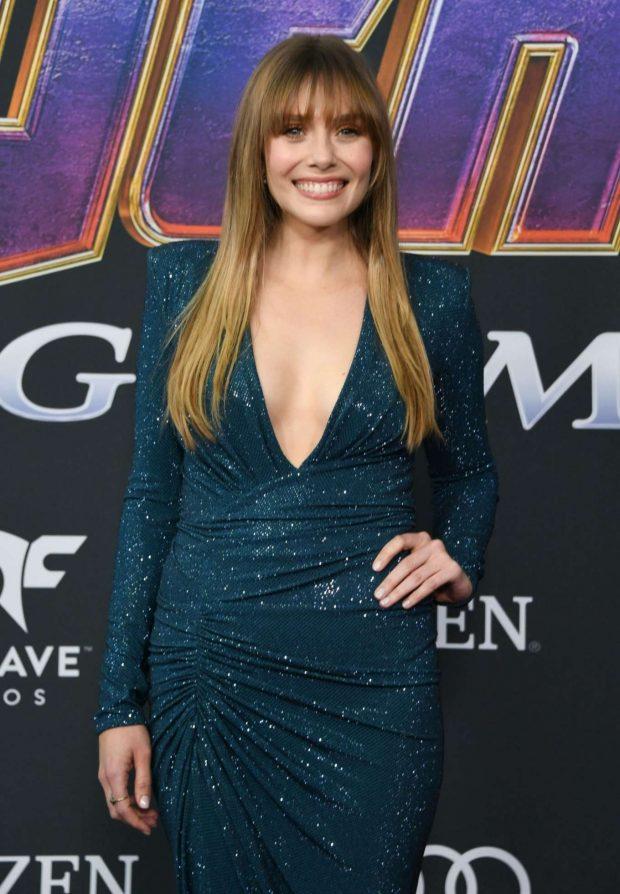 Elizabeth Olsen - 'Avengers: Endgame' Premiere in Los Angeles