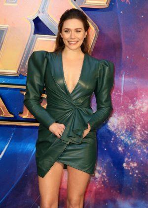 Elizabeth Olsen - 'Avengers: Infinity War' Fan Preview in London