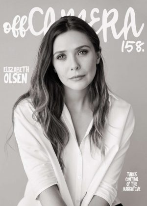 Elizabeth Olsen by Sam Jones Photoshoot for Off Camera 2018