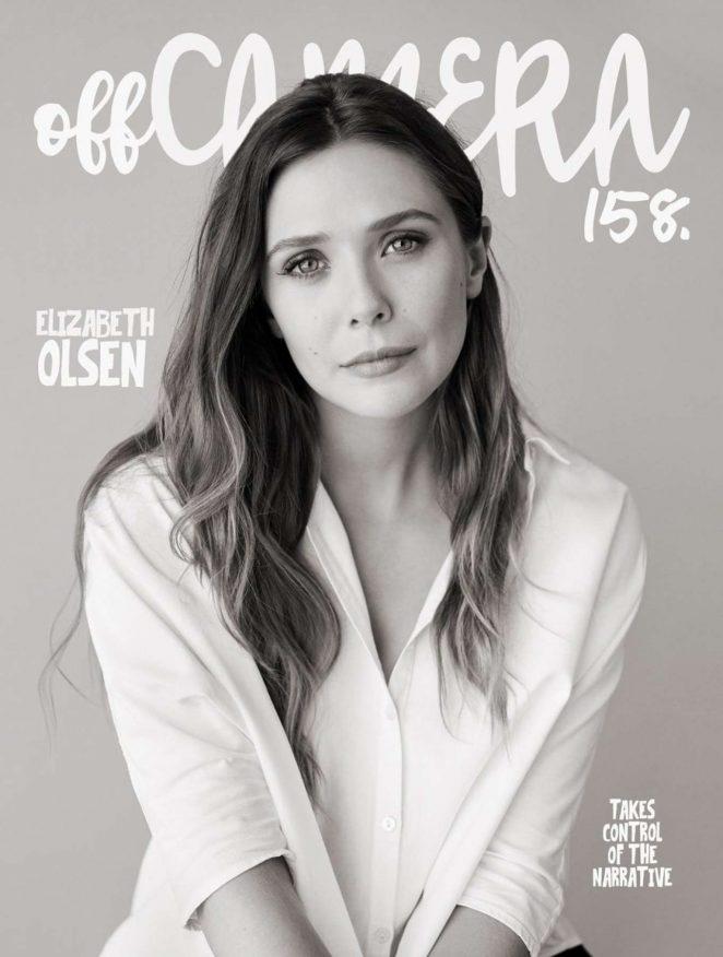 Elizabeth Olsen by Sam Jones Photoshoot for Off Camera 2018