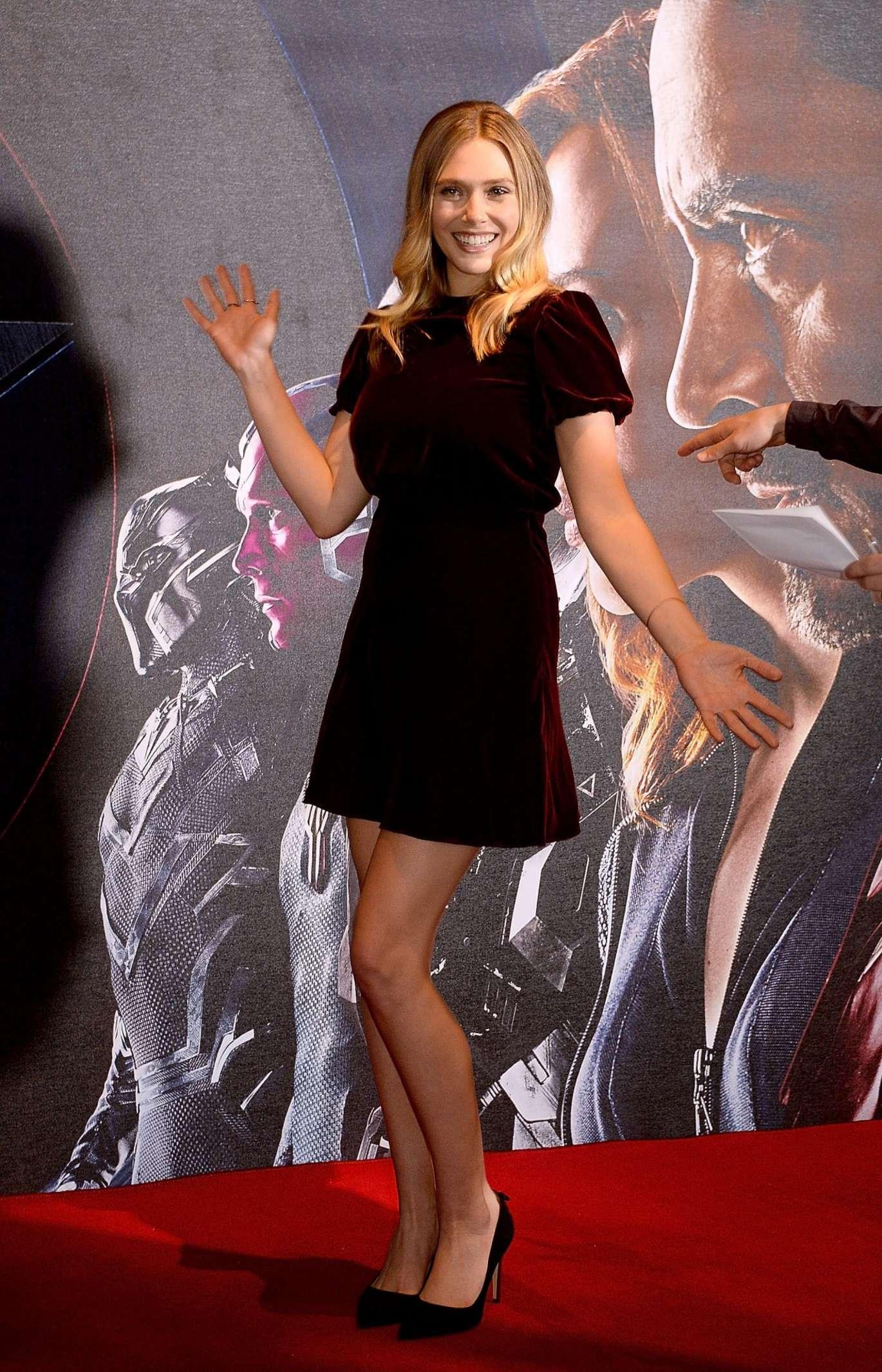 Elizabeth Olsen - 'Captain America: Civil War' Photocall in London