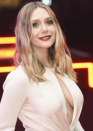 Elizabeth Olsen - 'Captain America: Civil War' Premiere in London