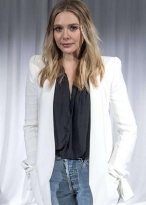 Elizabeth Olsen - 'Captain America: Civil War' Press Conference in Los Angeles