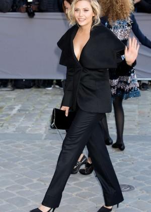 Elizabeth Olsen - Christian Dior's SS 2016 Paris Fashion Week