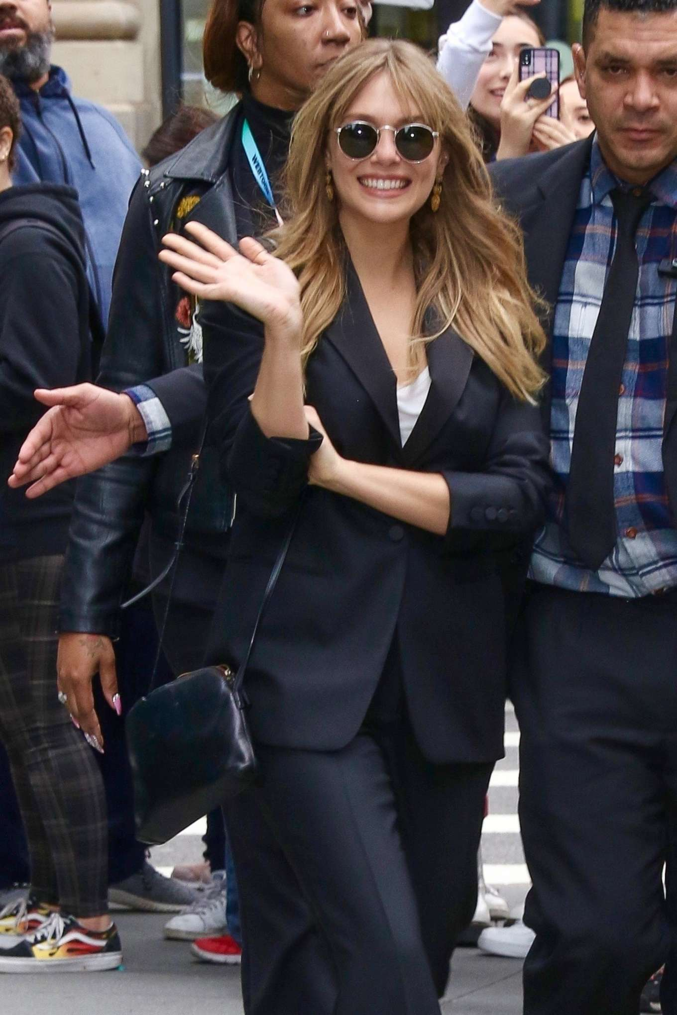 Elizabeth Olsen - Exits Build Series in NY