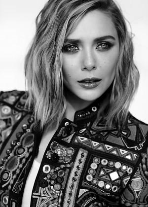 Elizabeth Olsen - Fashion Magazine (May 2015) adds