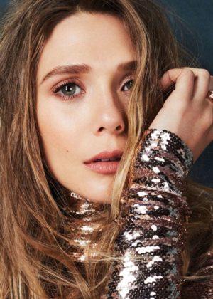 Elizabeth Olsen - Glamour (Mexico - October 2017)