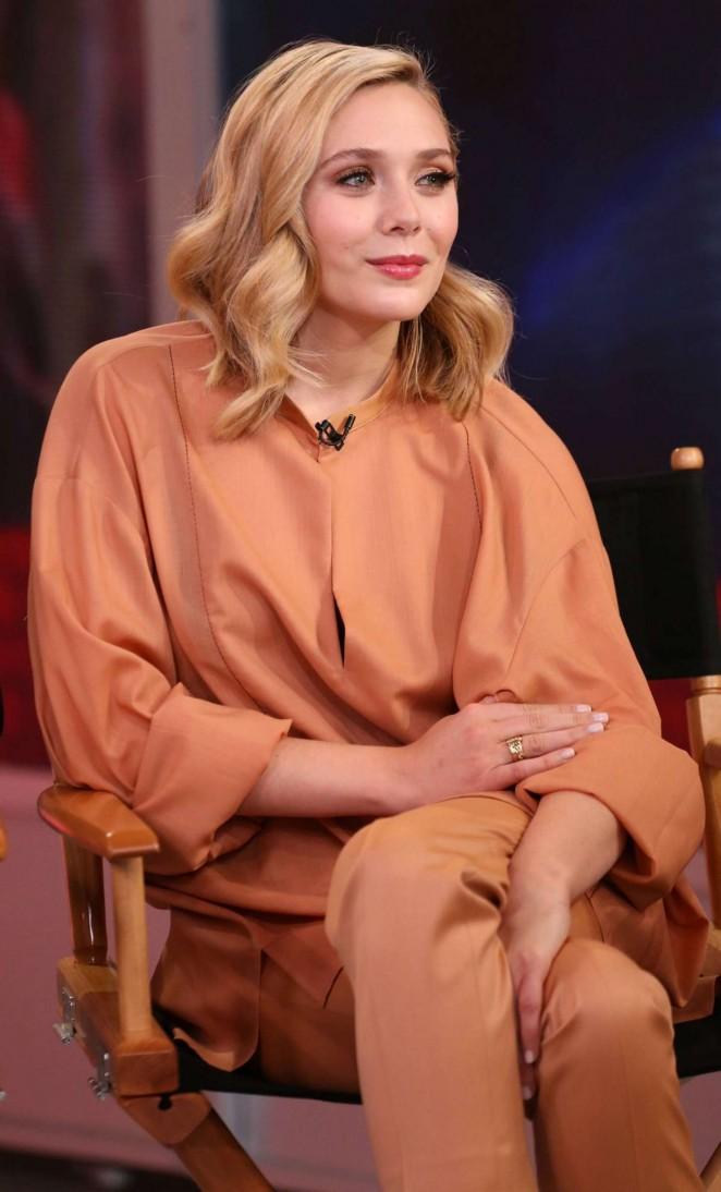 Elizabeth Olsen - 'Good Morning America' in NYC