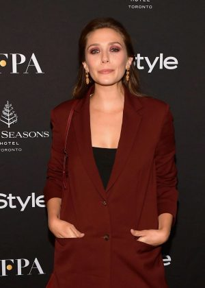 Elizabeth Olsen - HFPA and InStyle Party - 2018 Toronto International Film Festival