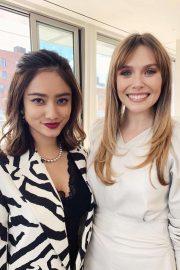 Elizabeth Olsen - Hosts a Bobbi Brown Lunch in NYC