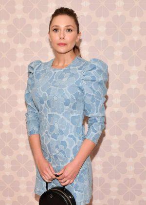 Elizabeth Olsen - Kate Spade Fashion Show in NYC