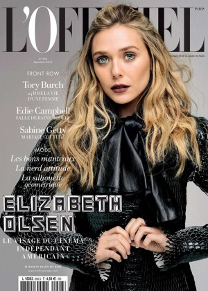 Elizabeth Olsen - L'Officiel Paris Cover (September 2015)