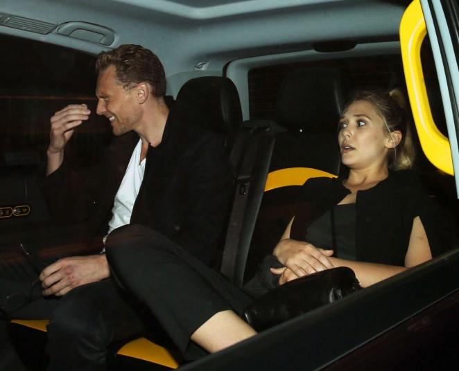 Elizabeth Olsen - Leaves The Wolseley Restaurant in London