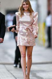 Elizabeth Olsen - Leaving Jimmy Kimmel Live! in Hollywood