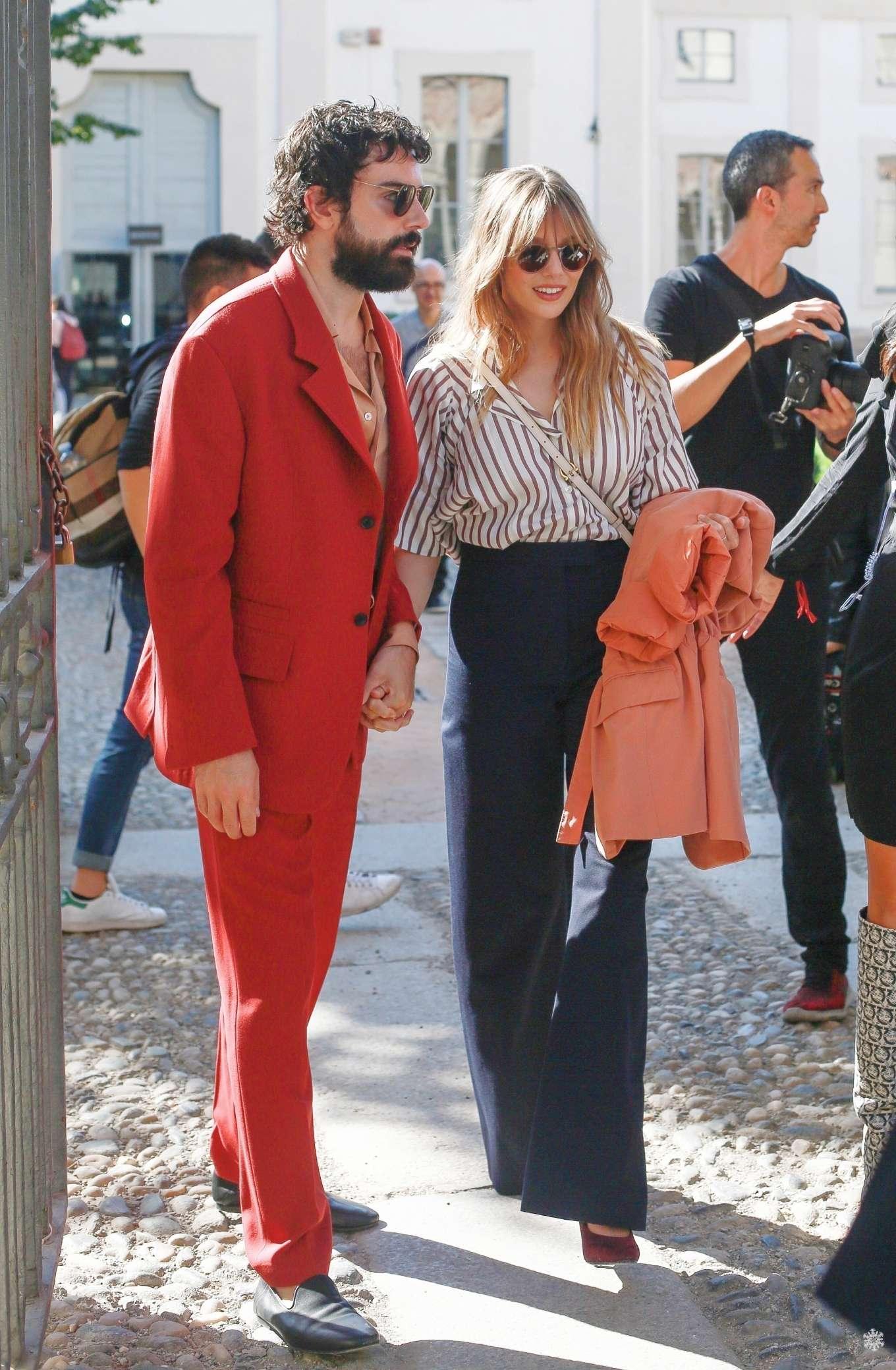 Elizabeth Olsen 2019 : Elizabeth Olsen – Leaving the Womenswear Show in Milan-03
