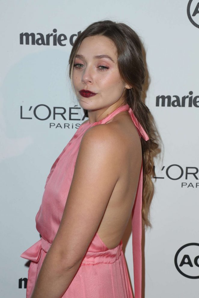 Elizabeth Olsen - Marie Claire's Image Maker Awards 2017 in LA