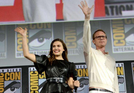 Elizabeth Olsen 2019 : Elizabeth Olsen – Marvel Panel at Comic Con San Diego 2019-06