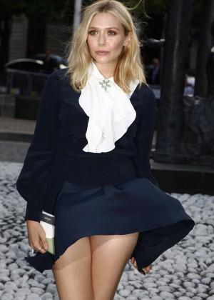 Elizabeth Olsen - Miu Miu Fragrance and Croisiere 2016 Collection Launch in Paris