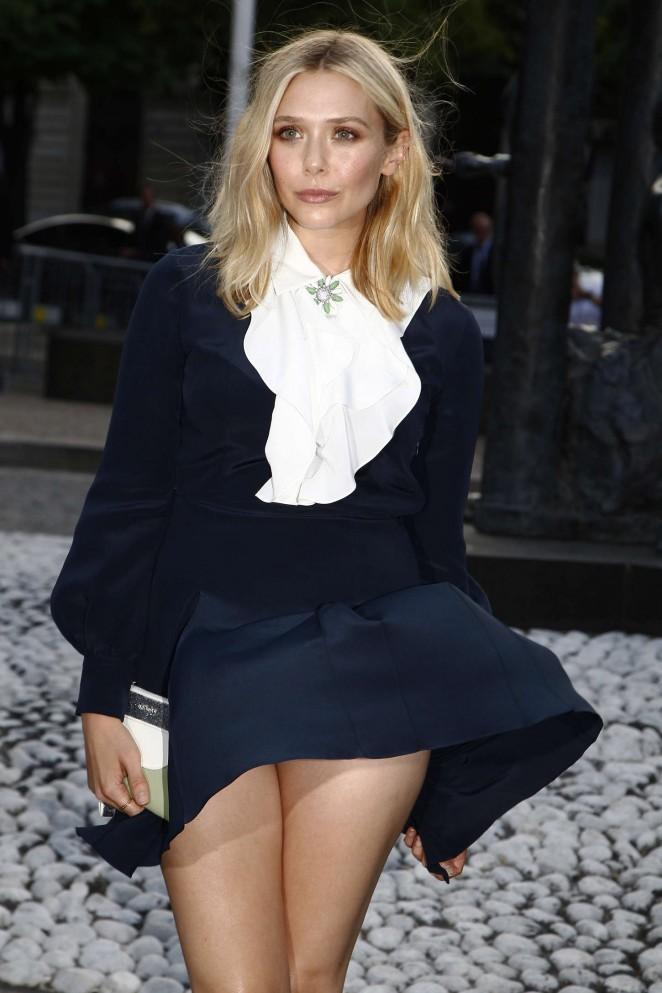 Elizabeth Olsen – Miu Miu Fragrance and Croisiere 2016 Collection Launch in Paris
