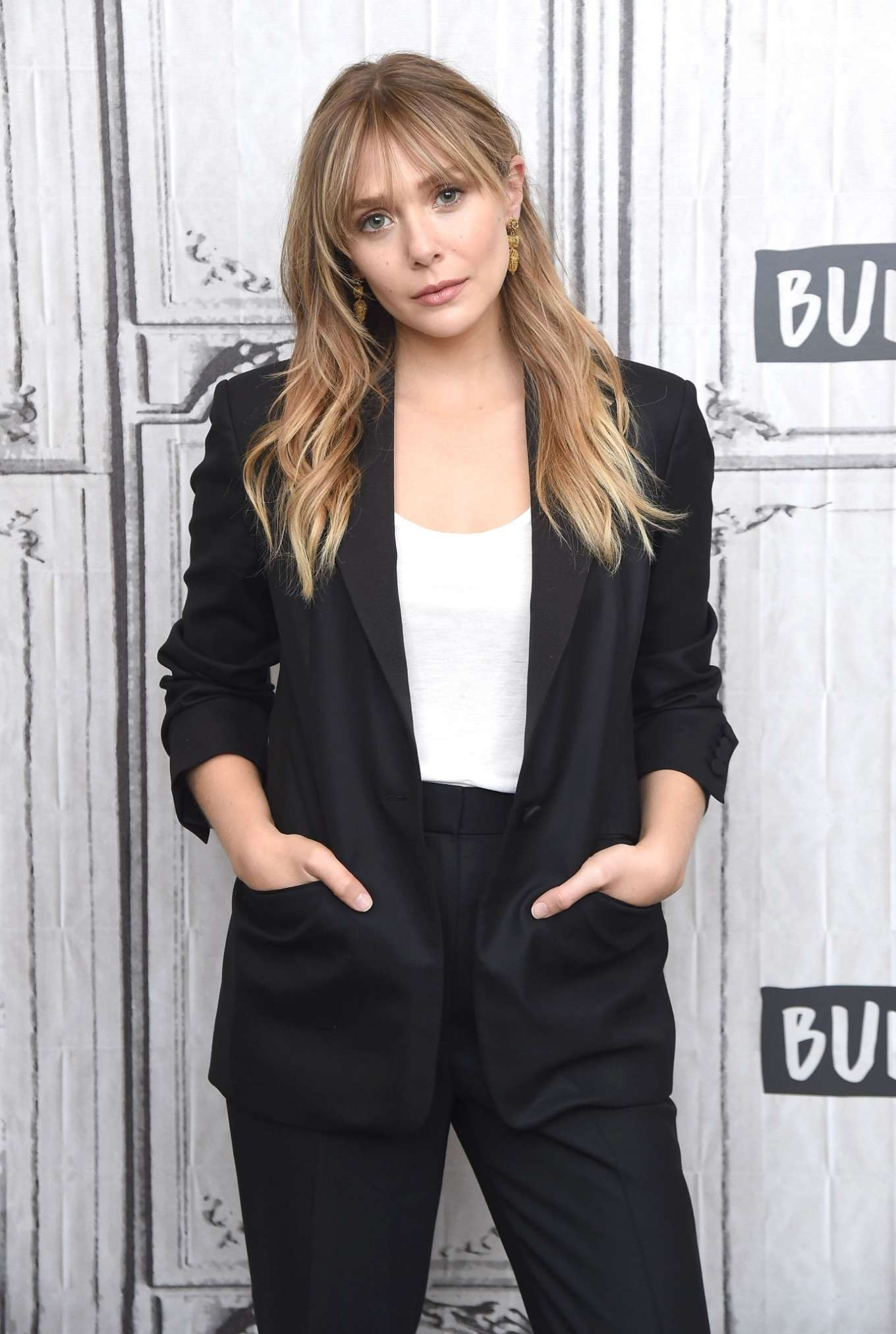 Elizabeth Olsen - On AOL Build in NYC
