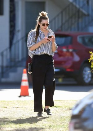 Elizabeth Olsen - Out and about in LA