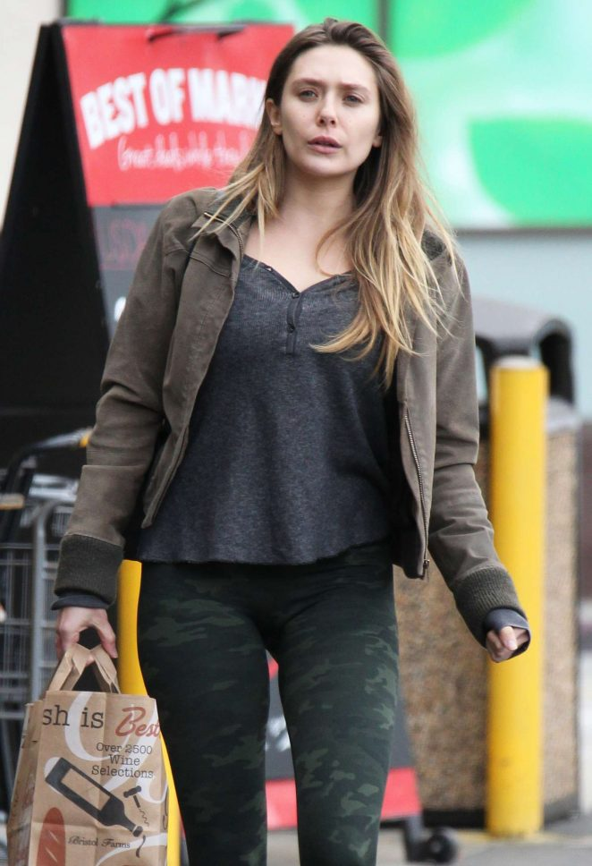 Elizabeth Olsen - Out and about in Los Angeles