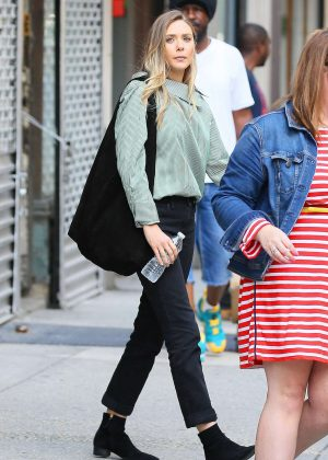Elizabeth Olsen Out and about in NYC