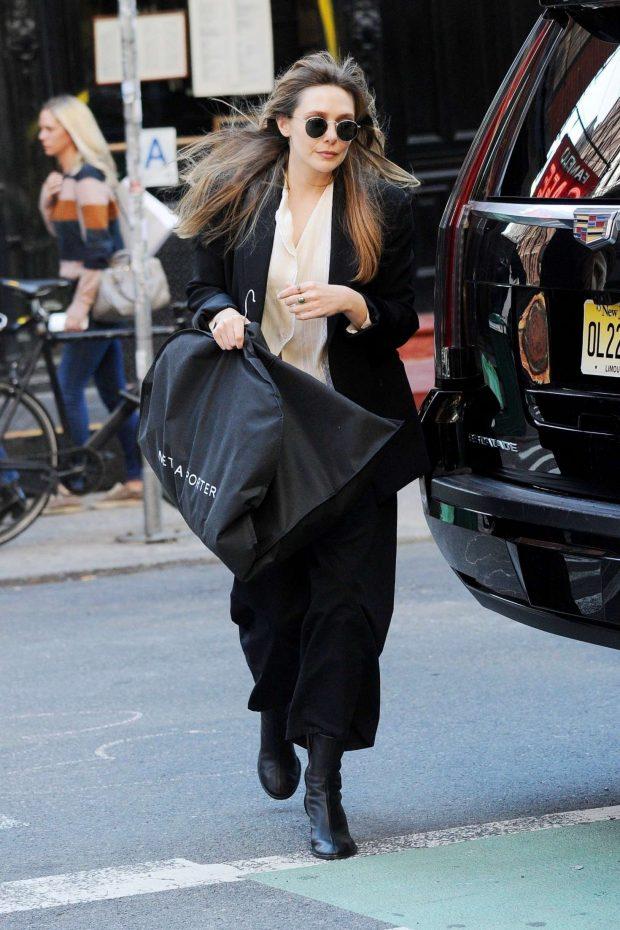 Elizabeth Olsen: Out in NYC -03