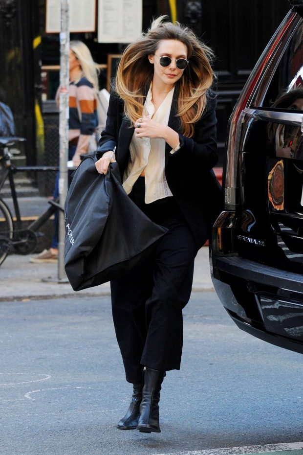 Elizabeth Olsen: Out in NYC -05