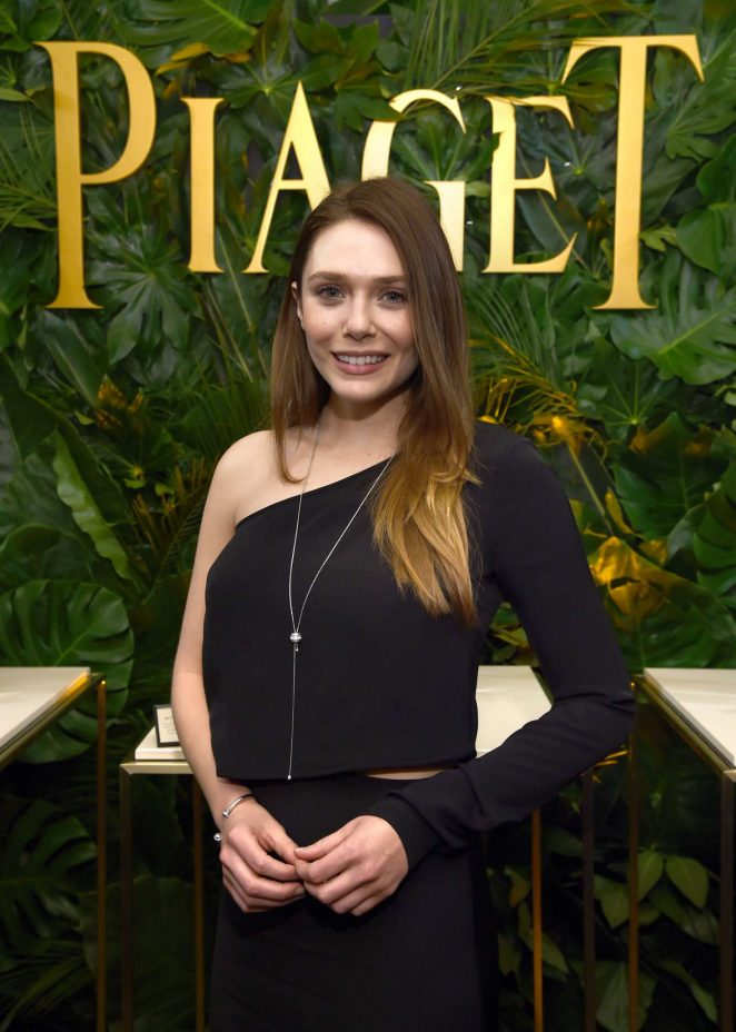 Elizabeth Olsen - Piaget celebrates Independent Film with The Art of Elysium in LA