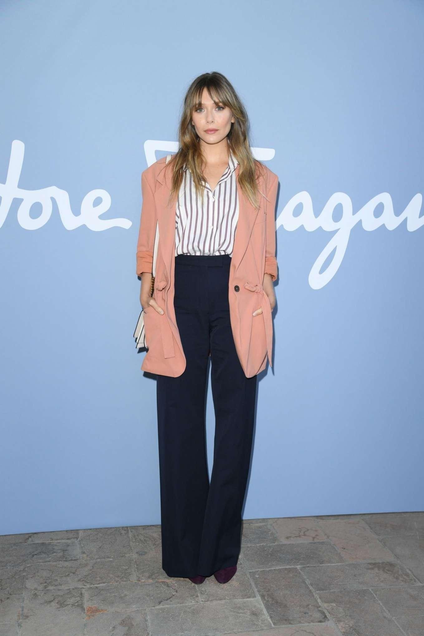 Elizabeth Olsen 2019 : Elizabeth Olsen – Salvatore Ferragamo Show at Milan Fashion Week-01