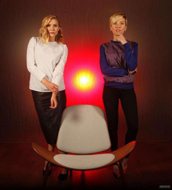 Elizabeth Olsen & Scarlett Johansson - LA Times Photoshoot 2015