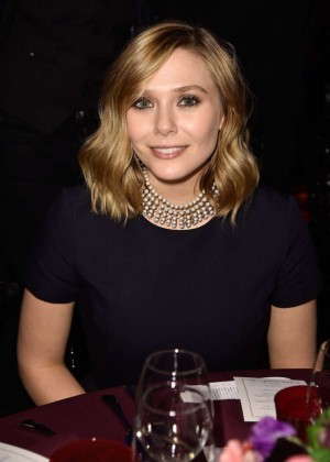 Elizabeth Olsen - Sidaction Gala Dinner in Paris