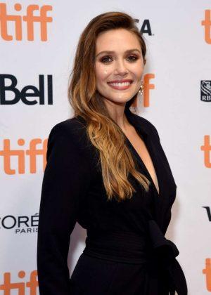 Elizabeth Olsen - 'Sorry For Your Loss' Premiere - 2018 Toronto Film Festival