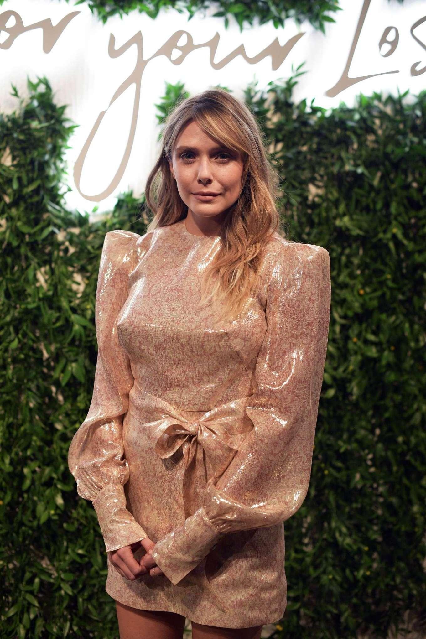 Elizabeth Olsen 2019 : Elizabeth Olsen – Sorry For Your Loss Premiere in Los Angeles-13