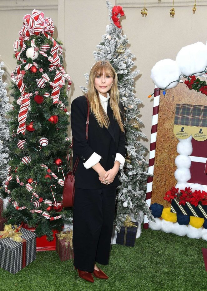 Elizabeth Olsen – St Jude Children's Research Hospital Holiday Celebration – Beverly Hills