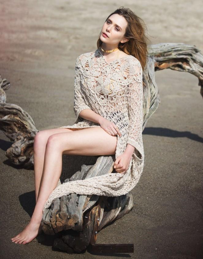 Elizabeth Olsen - The Edit Magazine (April 2015)