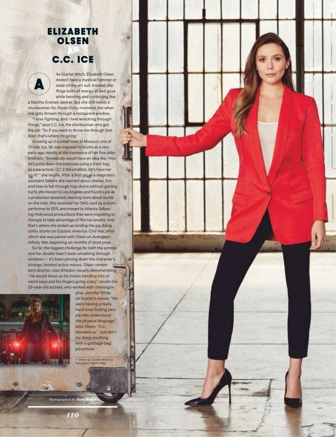 Elizabeth Olsen - The Hollywood Reporter (December 2018)
