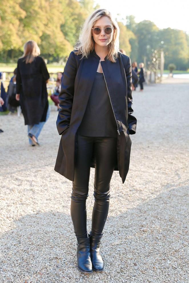 Elizabeth Olsen - The Row Fashion Show at Paris Fashion Week