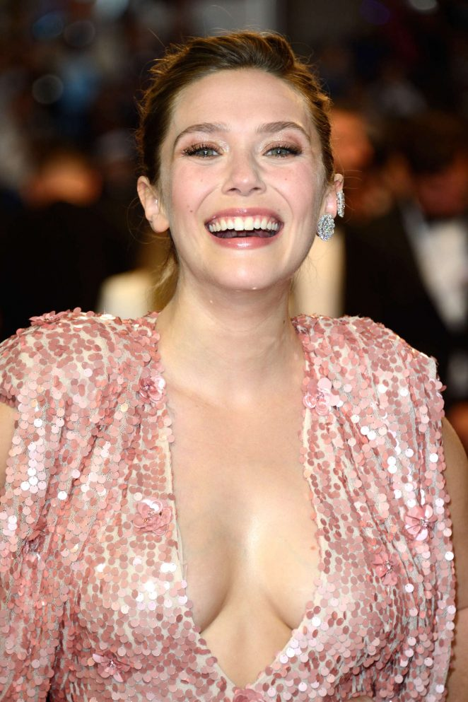 Elizabeth Olsen - 'The Square' Premiere at 70th Cannes Film Festival