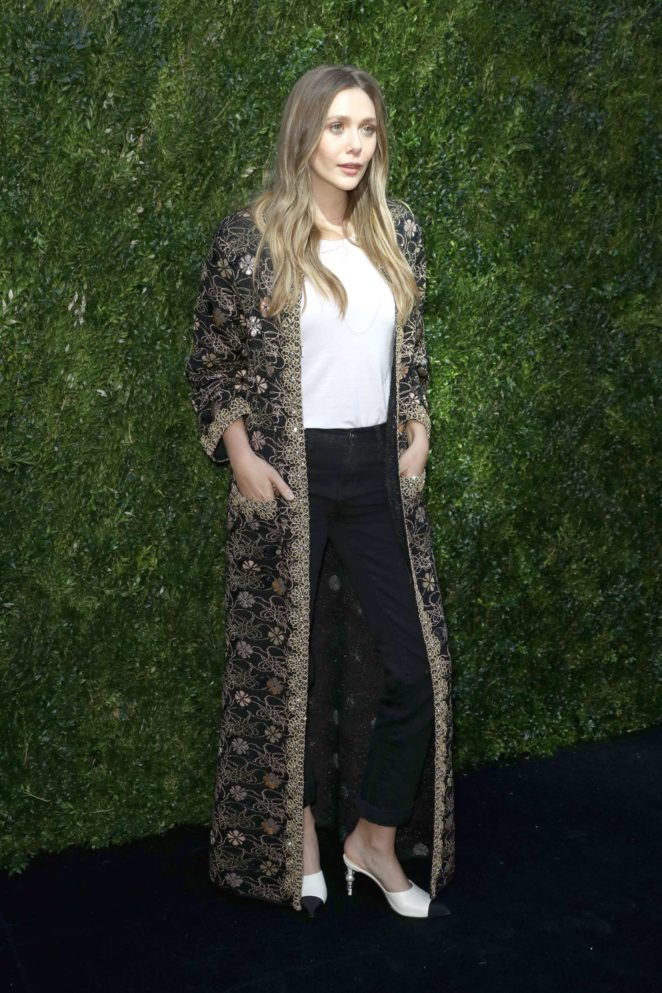 Elizabeth Olsen: The Tribeca Chanel Womens Filmmaker Program Luncheon -03