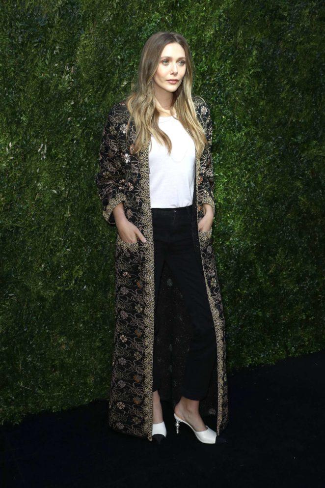 Elizabeth Olsen: The Tribeca Chanel Womens Filmmaker Program Luncheon -05