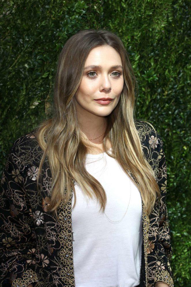 Elizabeth Olsen: The Tribeca Chanel Womens Filmmaker Program Luncheon -06