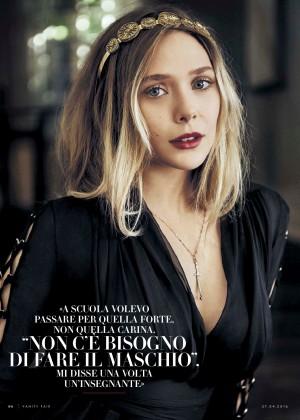 Elizabeth Olsen - Vanity Fair Italy (April 2016)