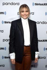 Elizabeth Olsen - Visits SiriusXM Studios in NY