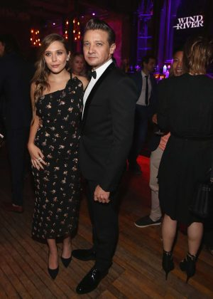Elizabeth Olsen - 'Wind River' After Party at Cliftons Cafeteria in LA