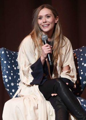 Elizabeth Olsen - 'Wind River' Screening at SCADShow in Atlanta