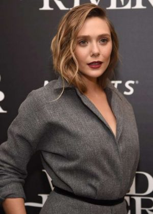 Elizabeth Olsen - 'Wind River' Screening in NYC