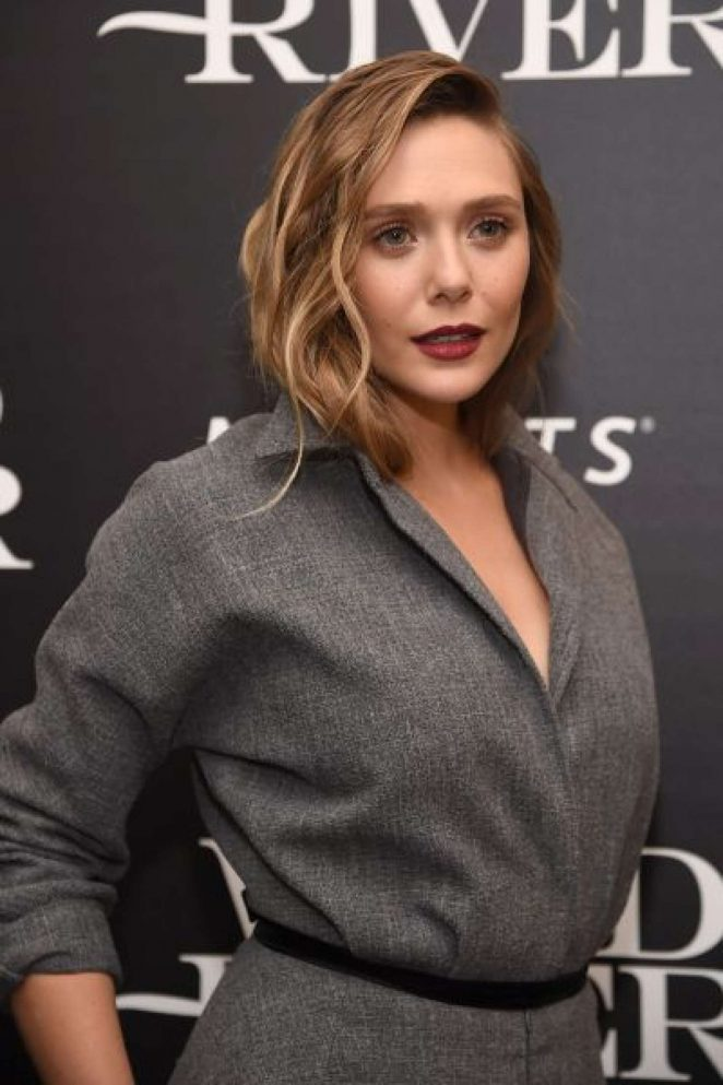 Elizabeth Olsen – 'Wind River' Screening in NYC